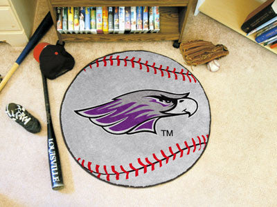 "Wisconsin-Whitewater Baseball Mat 27"" diameter"