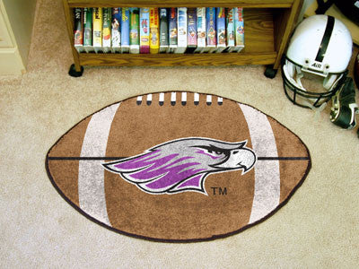 "Wisconsin-Whitewater Football Rug 20.5""x32.5"""