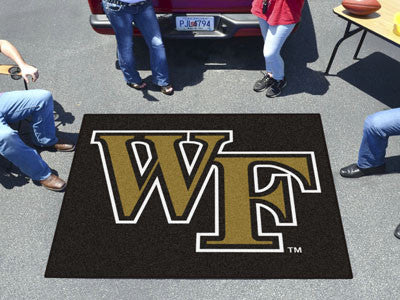 Wake Forest Tailgater Rug 5'x6'