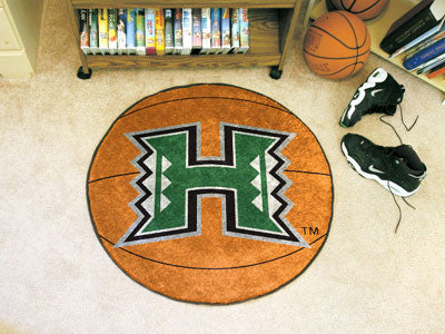 "Hawaii Basketball Mat 27"" diameter"
