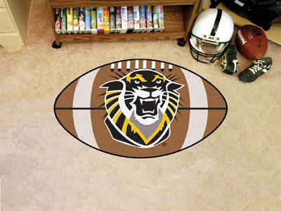 "Fort Hays State Football Rug 20.5""x32.5"""