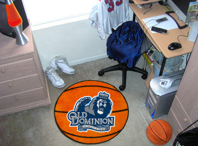 "Old Dominion Basketball Mat 27"" diameter"