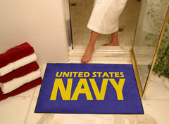 "Navy All-Star Mat 33.75""x42.5"""