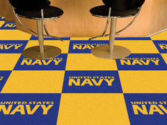 "Navy Carpet Tiles 18""x18"""