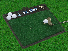 "Navy Golf Hitting Mat 20""x17"""