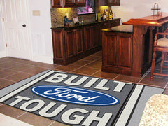 Built Ford Tough Rug 5'x8' Gray