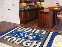 Built Ford Tough Rug 5'x8'- Blue