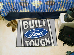 "Built Ford Tough Starter Rug 19""x30"" Gray"