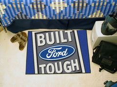 "Built Ford Tough Starter Rug 19""x30"" - Blue"