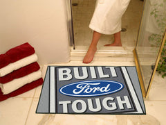 "Built Ford Tough All-Star Mat 33.75""x42.5"" Gray"