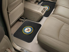 "Navy Backseat Utility Mat 2 Pack 14""x17"""