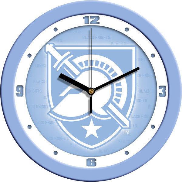 NCAA Army Black Knights-Baby Blue Wall Clock
