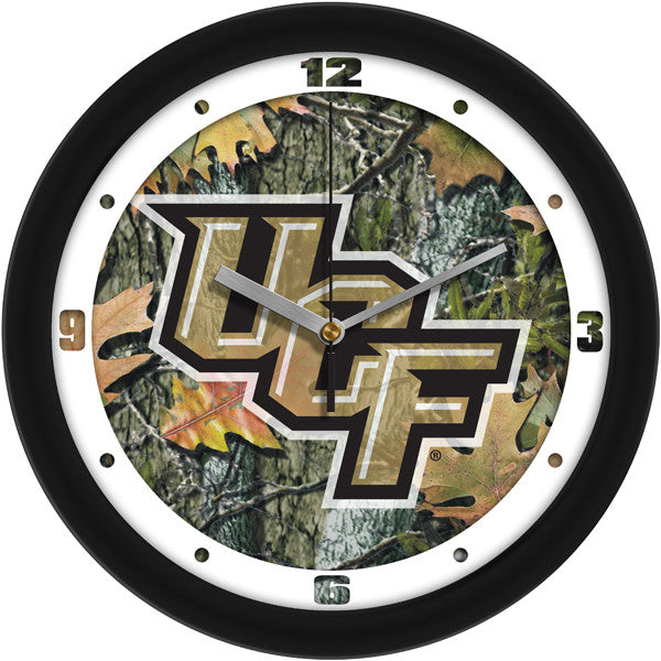 NCAA Central Florida Knights-Camo Wall Clock
