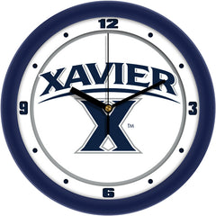 NCAA Xavier Musketeers-Traditional Wall Clock