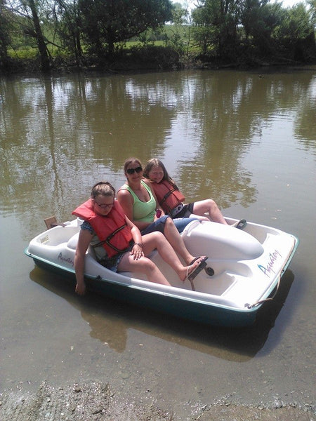 Paddle Boat Rentals..  Friends, Laughs & Fun