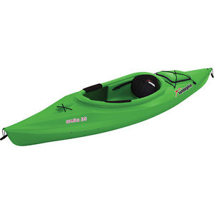 #1 Lime Green Aruba ss 10 Sit-In Kayak Rental