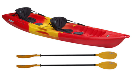 Nomad 2 person tandem Feel Free Sit -On Kayak Rental