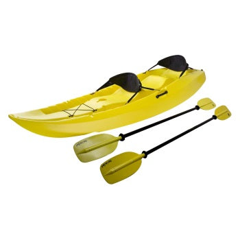 Yellow Manta Tandem Sit-on Kayak Rental