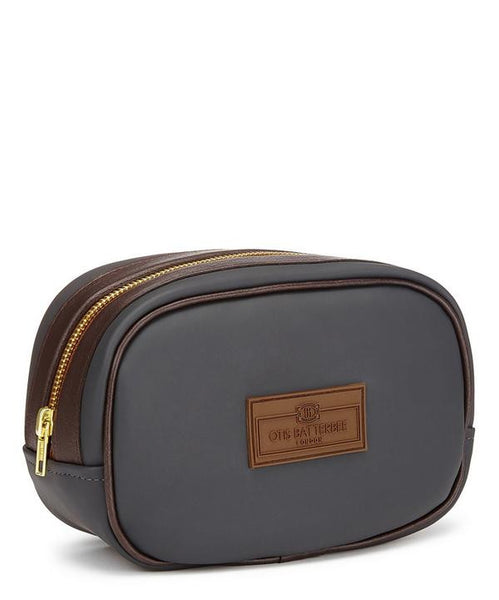 Men's Small Gray Washbag