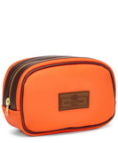 Men's Small Orange Washbag