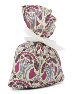 Liberty Print Lavender Bag Red
