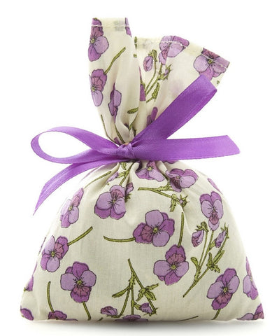 Liberty Print Lavender Bag Purple