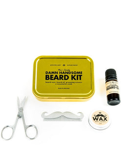 MENS SOCIETY Beard Grooming Kit