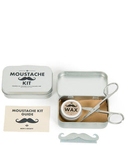 MENS SOCIETY Mustache Kit