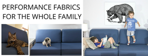 Easy to clean pet care fabric for performance