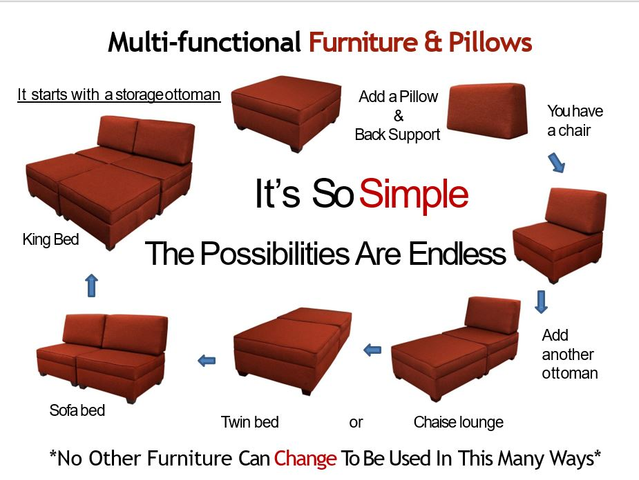 Multi-functional govermental furniture