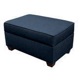 "Duobeds Modular Storage Ottoman 24""x36"" has convenient storage space inside, and combines with more ottomans and duobed sofa back pillows to create sectionals, sofas, beds, futons, love seats, and chairs."