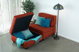 Chaise Lounge with Storage