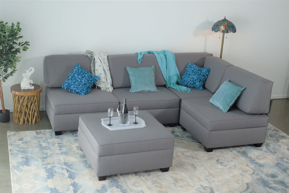 Sectional Couch with Corner