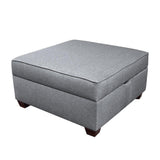 "Duobeds Modular Storage Ottoman 36""x36"" has convenient storage space inside, and combines with more ottomans and duobed sofa back pillows to create sectionals, sofas, beds, futons, love seats, and chairs."