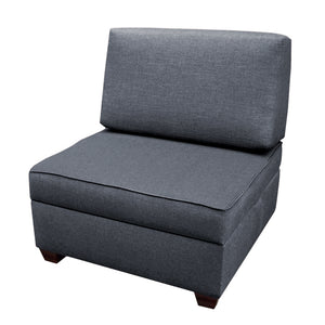 Storage Chair Ottoman