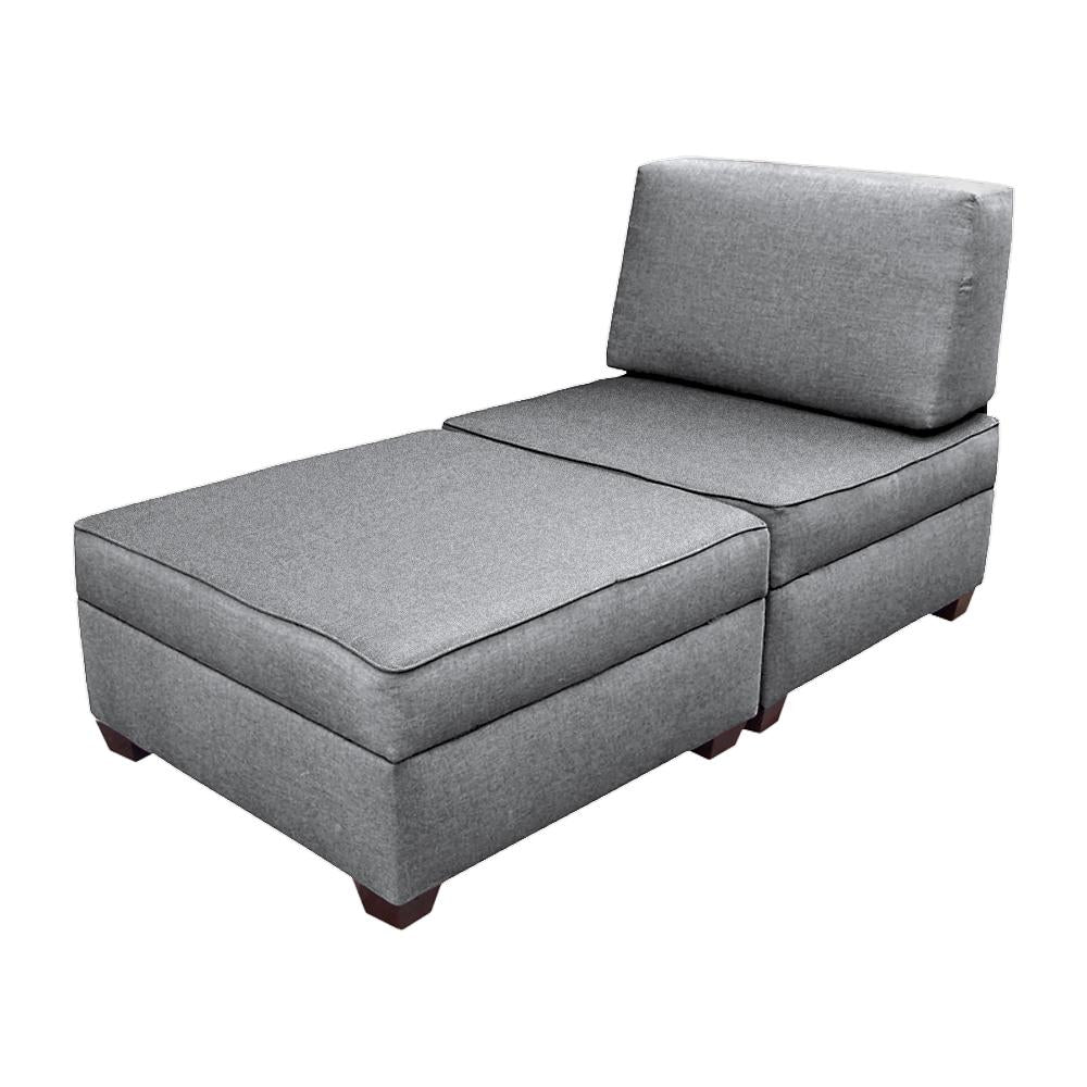 Swell Duobeds Chaise Lounge With Storage Duobed Store Ibusinesslaw Wood Chair Design Ideas Ibusinesslaworg