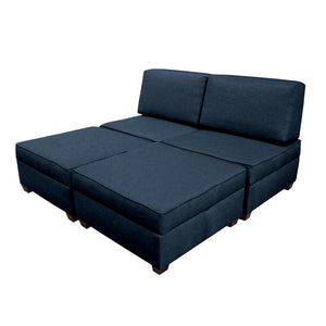 Duobed King Sofa Bed with Storage