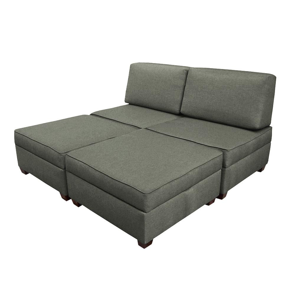 Duobed King Sofa Bed With Storage Duobed Store