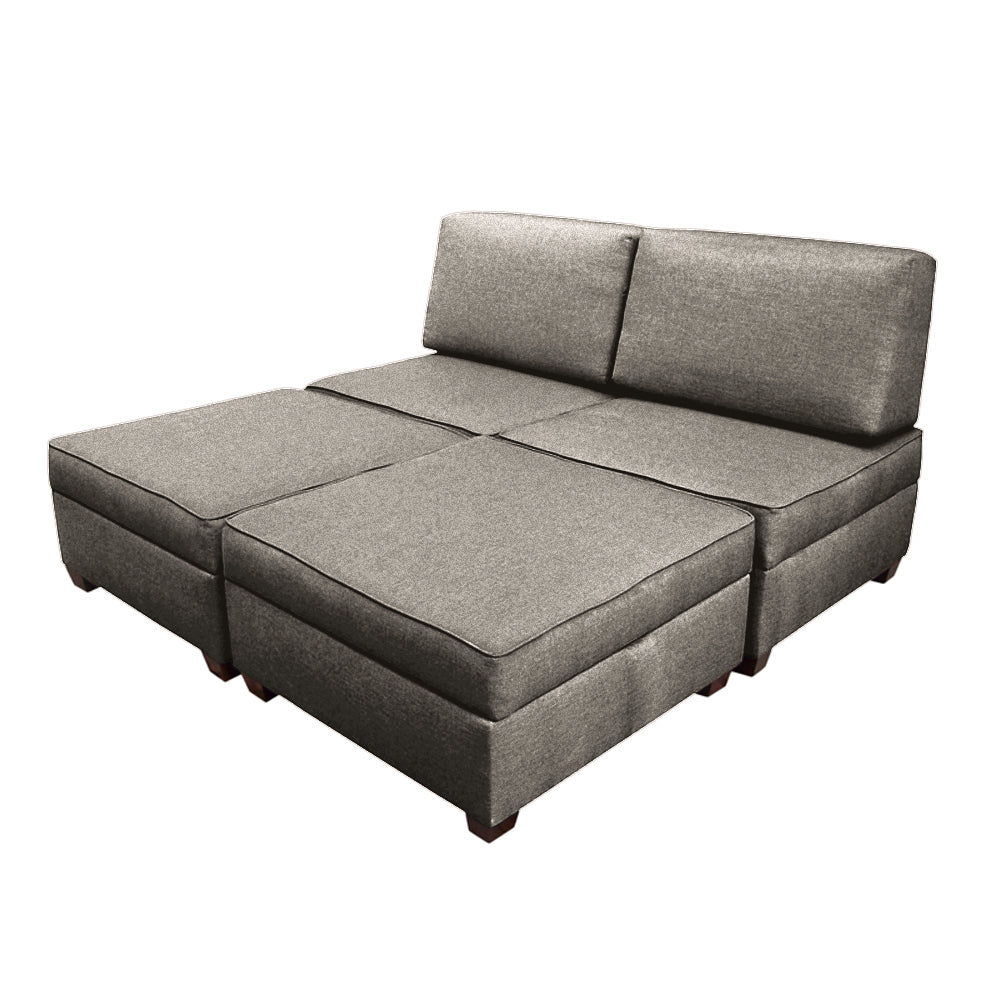 Duobed Queen Sofa Bed With Storage Duobed Store