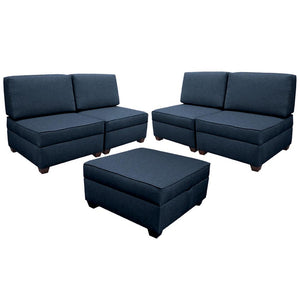 Duobed 6-1 Modular Sectional Couch
