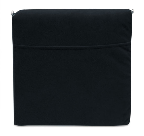 Duobeds Pocket Pillow lightweight, lumbar support pillow adds comfort to any sofa, chair, or bed, and has a convenient pocket for your book, tablet, journal, newspaper, glasses, or chocolate bar.