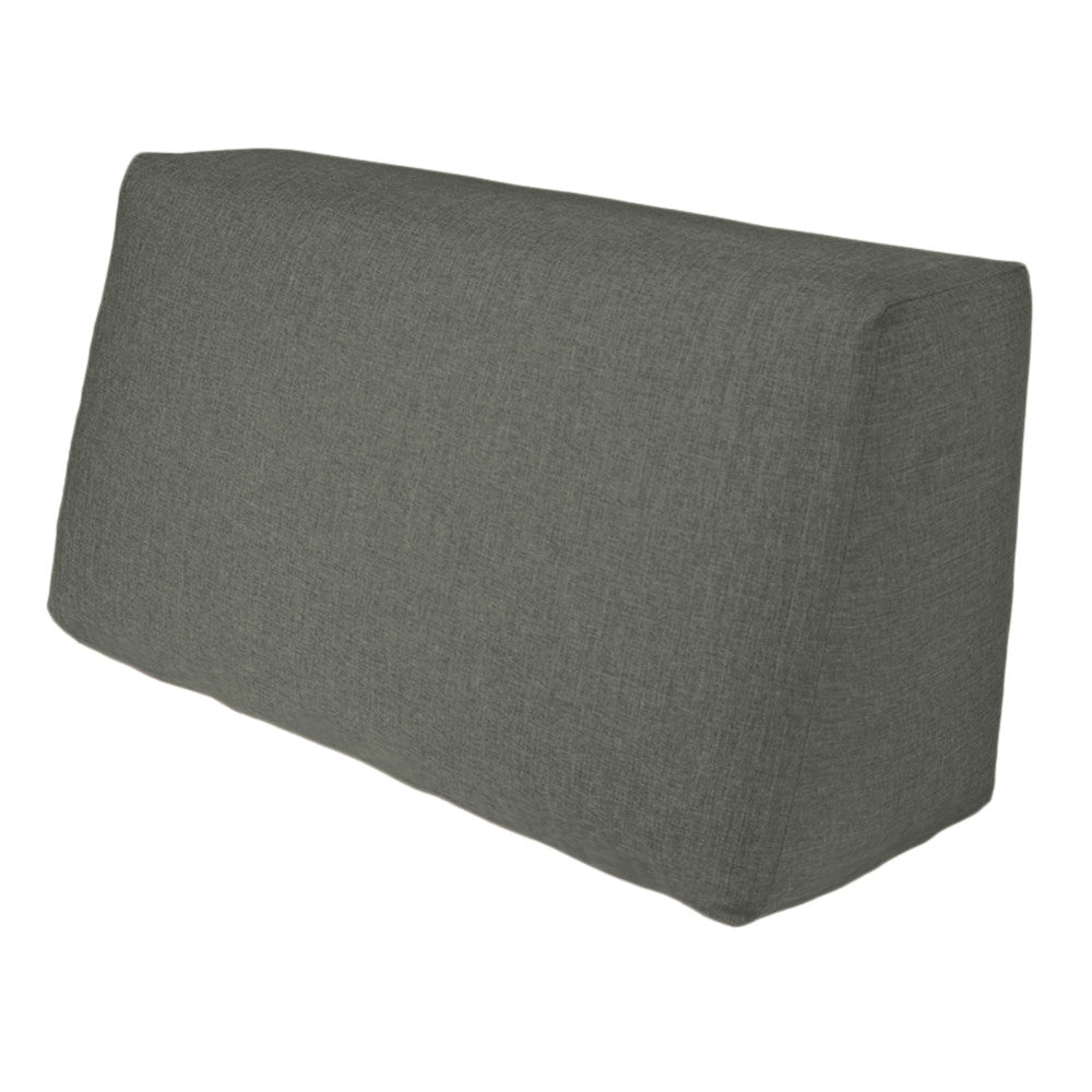 The Duobeds Sofa Back Pillow offers exceptional lumbar support and easily converts duobed ottomans into chairs or sofas, or is a comfortable reclining pillow for any bed.