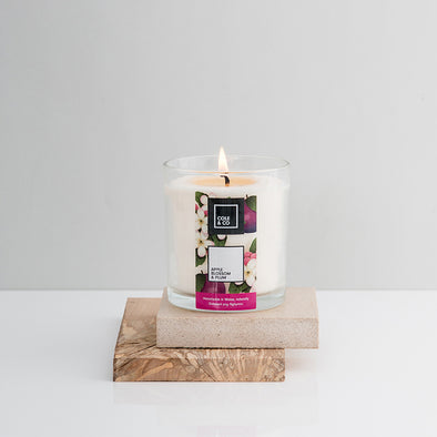 Apple Blossom & Plum Candle