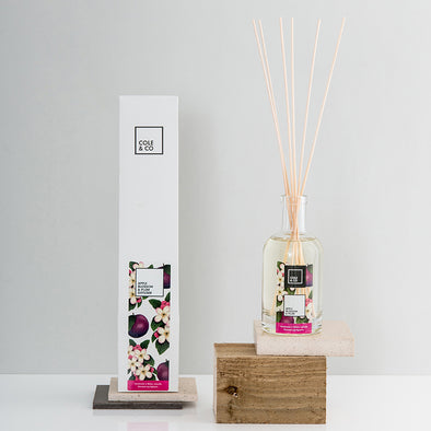 6 Apple Blossom & Plum Diffusers