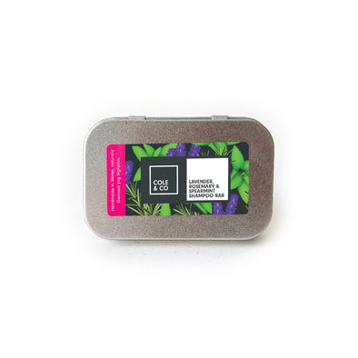 Lavender, Rosemary & Spearmint Travel Shampoo Bar