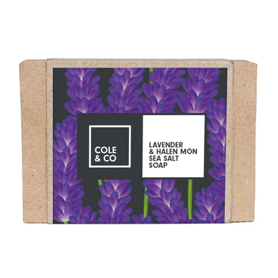 Lavender & Halen Môn Sea Salt Soap