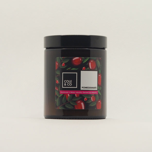 Pomegranate Candle in a Jar