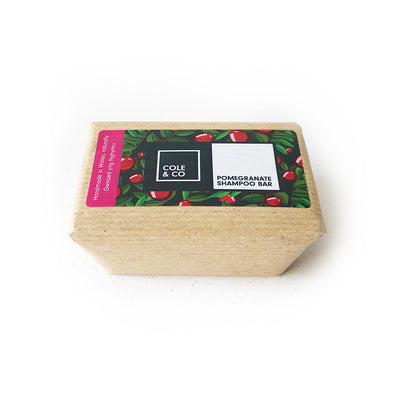 Pomegranate Large Shampoo Bar