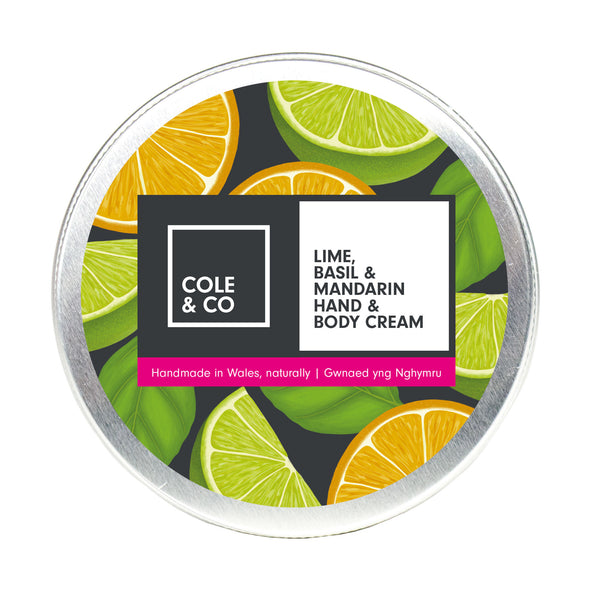 Lime, Basil & Mandarin Hand & Body Cream