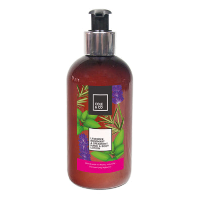 Lavender, Rosemary & Spearmint Hand & Body Lotion